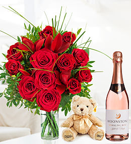 12 Luxury Roses Gift Bundle