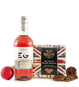 Raspberry Gin & Chocolates