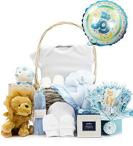 Deluxe Baby Boy Gift Set