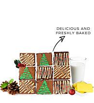 Artisan Festive Brownies