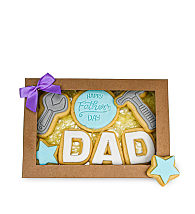 Fathers' Day Tools Biscuit Gift