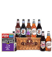 Basket of Beer with Card