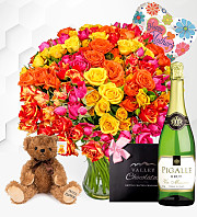 100 Spray Rose Gift