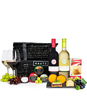 Artisan Cheese & Wine Basket