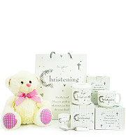 Baby Girl Christening Gift Set