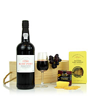 Port and Cheese Gift Box