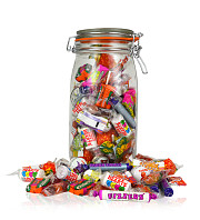 Retro Jar of Sweets