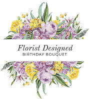 Florist Designed Birthday