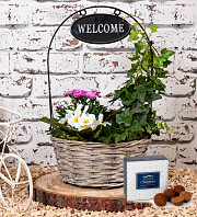 Outdoor Welcome Basket
