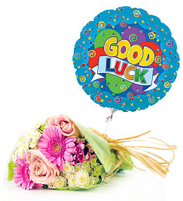 Good Luck and Bouquet