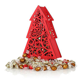 The Festive Chocolate Tree