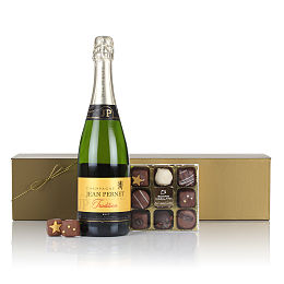 Luxury Champagne and Chocs
