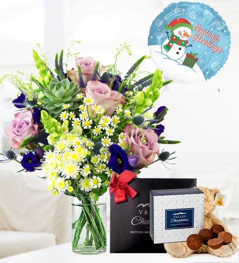 Christmas Wild Flowers Bundle - Free Chocs