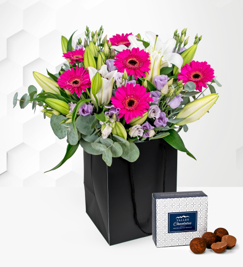 Logo Exquisite - Free Chocs - Flower Delivery - Next Day Flower Delivery - Flowers - Luxury Flowers