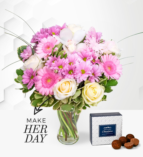 Just For You - Free Chocs - Flower Delivery - Birthday Flowers - Birthday Bouquets - Next Day Flower Delivery