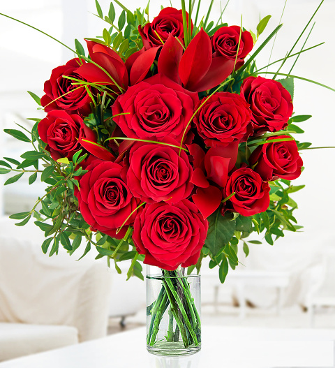 luxury valentine's roses » romantic flowers £.  free, Beautiful flower