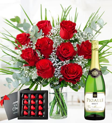 Romantic Rose Deluxe Gift