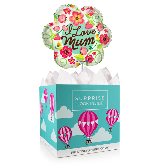 Best Mum Ever - Balloon in a Box - Balloon Gifts - Mother's Day Gifts - Mother's Day Balloons