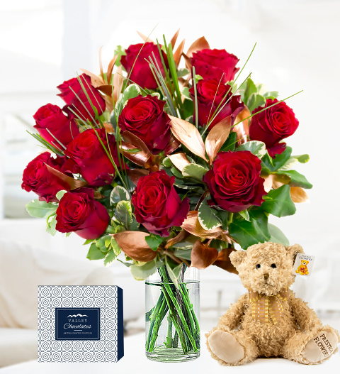 12 Rose Luxury Gift