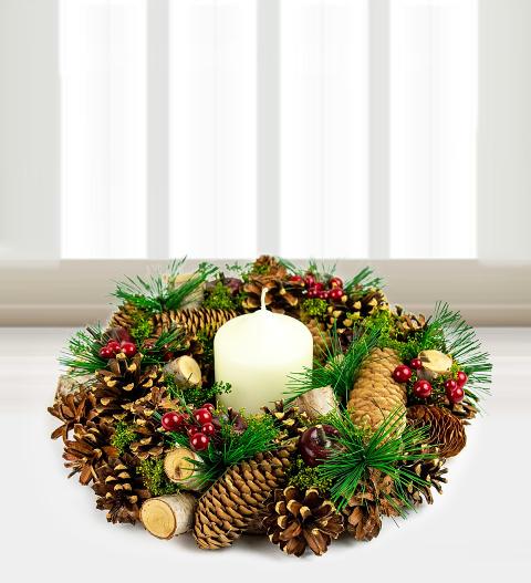 Traditional Christmas Wreath Christmas Plants 22 99 Free