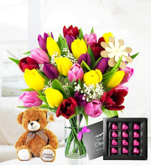 Tulips To Treat Mum