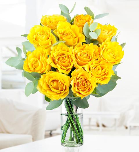 Yellow rose charm flowers 2499 free chocolates prestige flowers mightylinksfo