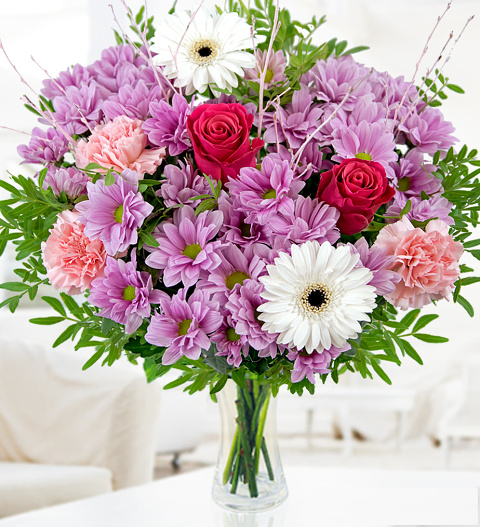cerise » flowers £.  free chocolates  prestige flowers, Beautiful flower