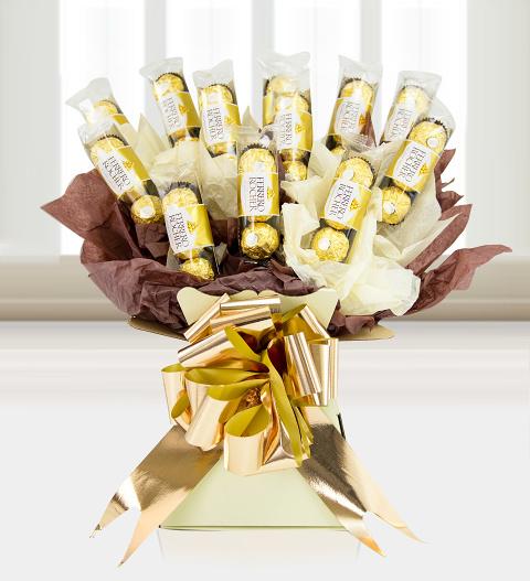 Ferrero Rocher Bouquet 187 Hampers 163 34 99 Free Chocolates