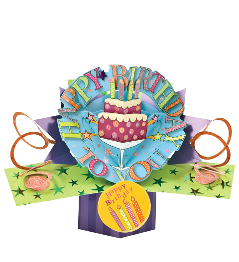 Happy Birthday Pop Card