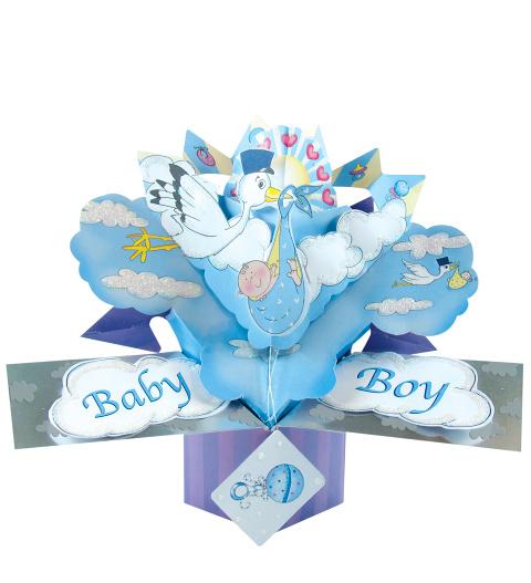 Baby Boy Pop Card