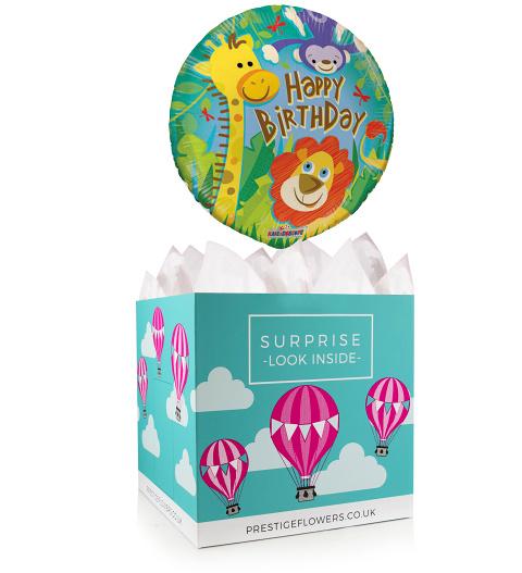 Happy Birthday Balloon Box 1499