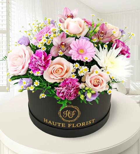 Wild Flowers Hatbox
