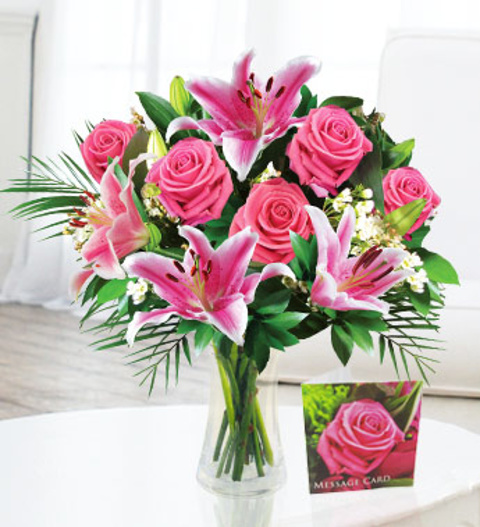 happy mother's day » mothers day flowers £.  free chocolates, Natural flower