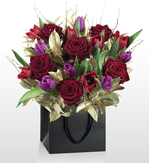 Venus and Mars - National Gallery Flowers - National Gallery Bouquets - Flower Arrangements Inspired By Art - Flower Delivery