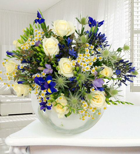 Niagra - Haute Florist Bouquet - Luxury Flowers - Luxury Flower Delivery - Luxury Bouquet