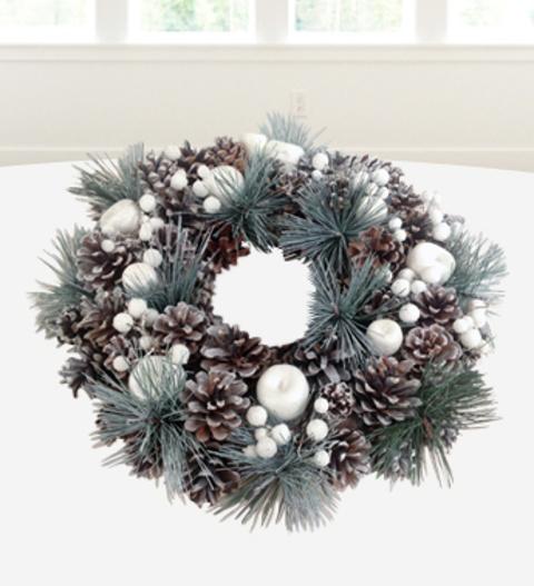 Luxury Noel Wreath Christmas Plants 26 99 Free Chocolates