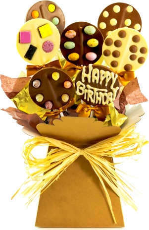 Happy Birthday Choc Pop 2999