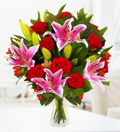 I Love You Valentines Day Flowers GBP2999