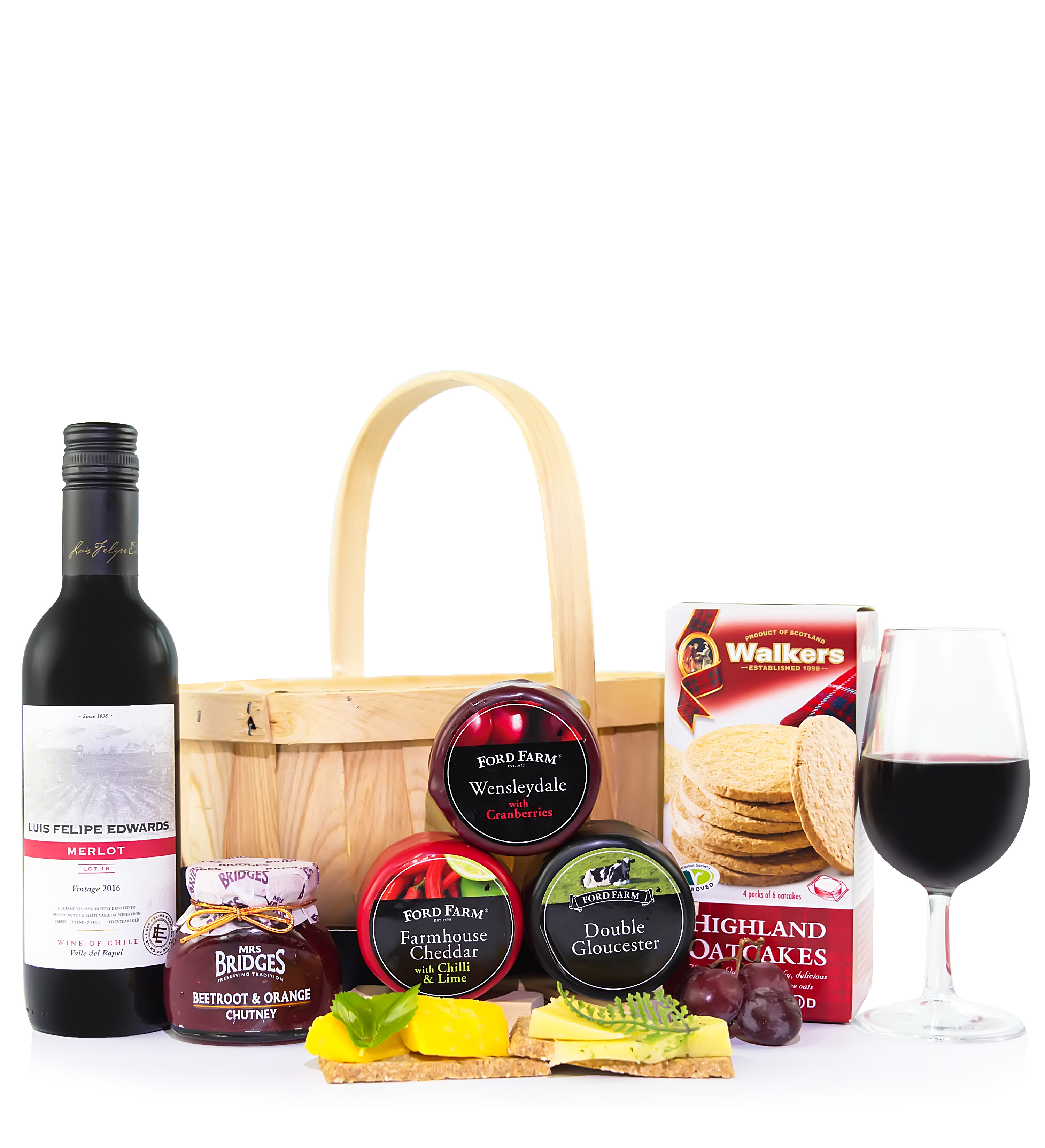 Cheese and Wine Gift