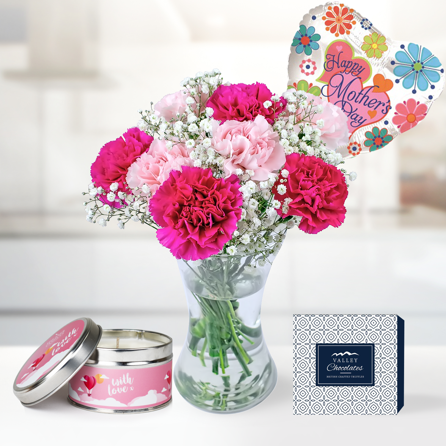 Carnation Collection Gift