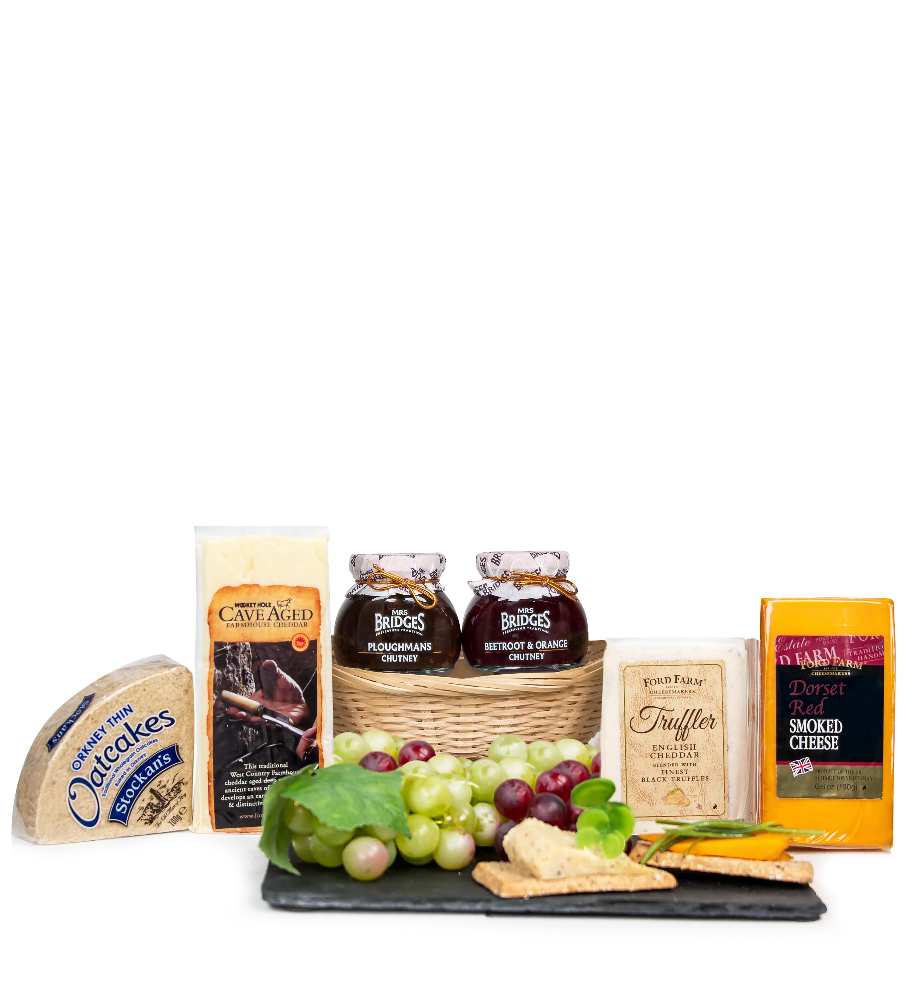 Seasonal Cheese Basket