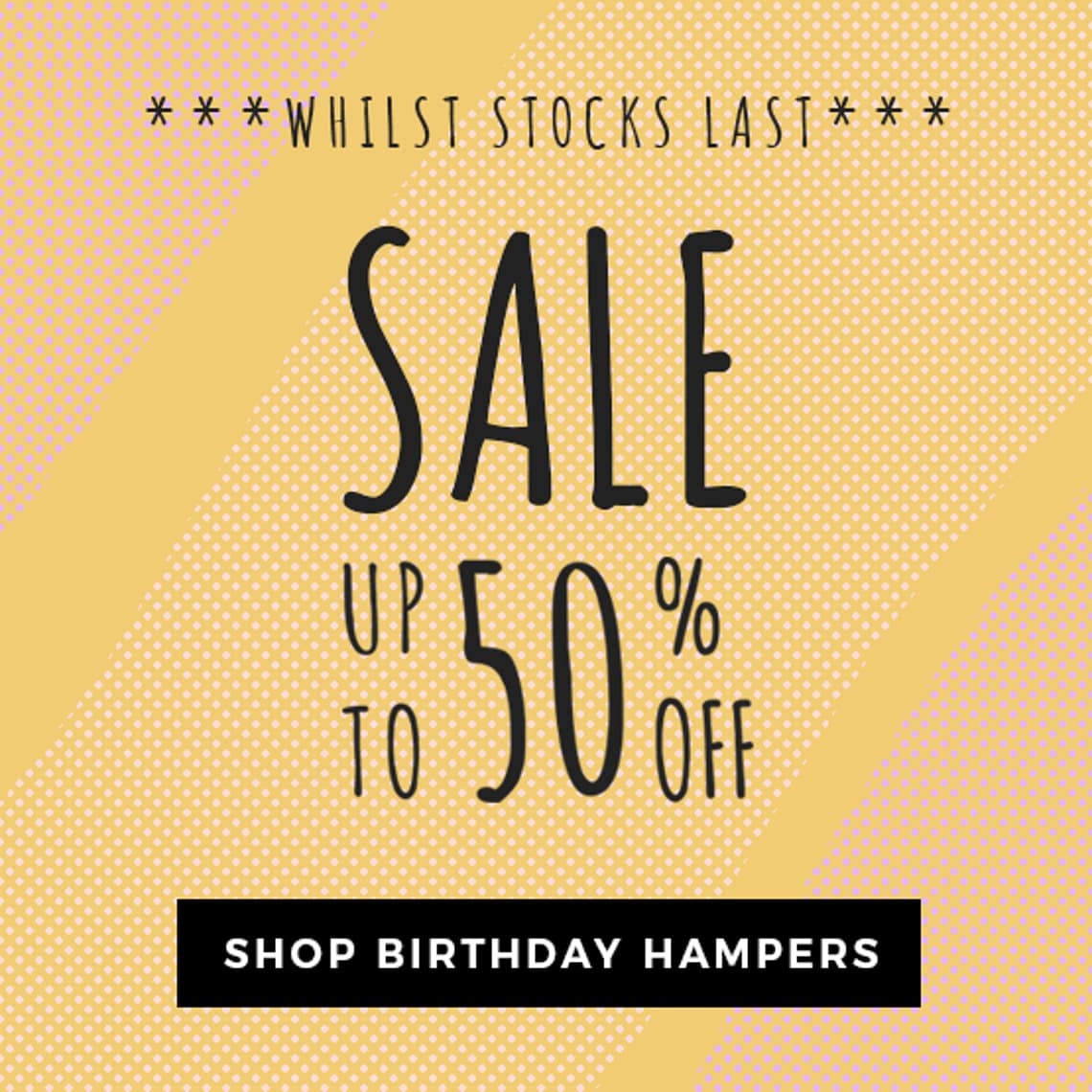 Up To 50 Off Hampers And Gifts