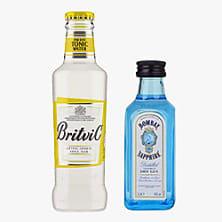 Gin 5cl + Tonic