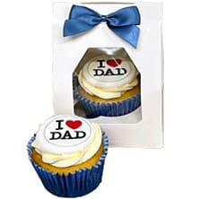 I Love Dad Cupcake