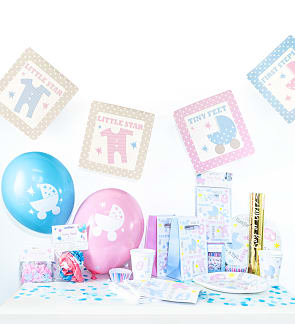 Baby Shower Preparation Kit For Girl