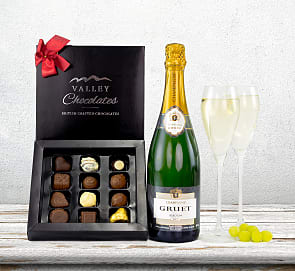 Free flower delivery on Celebrate with Champagne