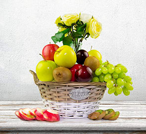 Free flower delivery on Fantastic Fruits