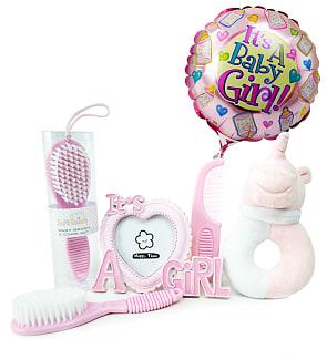 Beautiful Baby Girl Gift Set