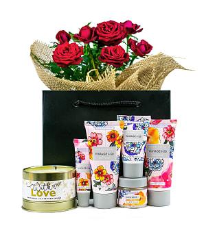 Romance & Roses Gift