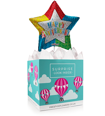Anniversary Balloon Box